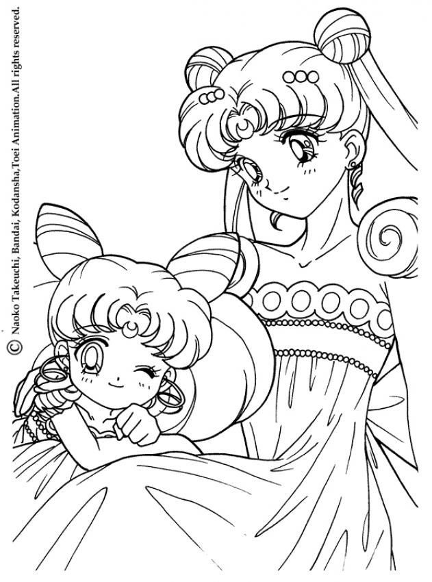 Coloriage Sailor Moon